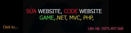 Sửa chữa và thiết kế website .net